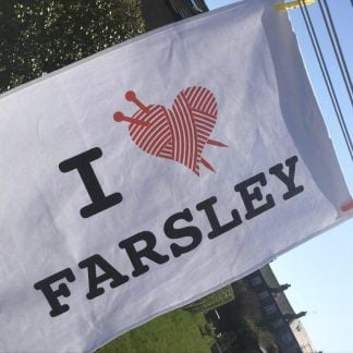 I ♥︎ Farsley Tea Towel