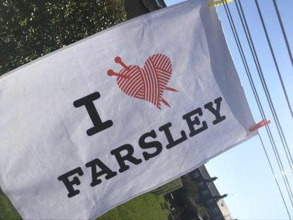 I ♥︎ Farsley Tea Towel